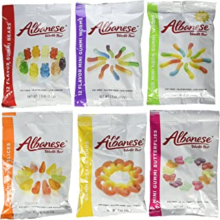 product image for Albanese World's Best Gummi Candy Assorted - 6 Packs by Albanese Confectionery