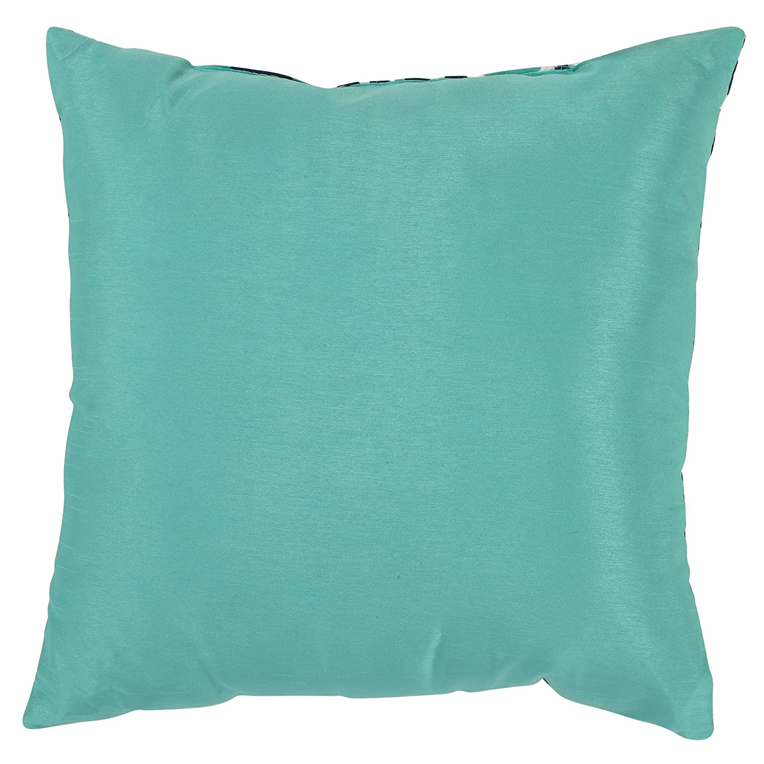 blue and azure throw pillow pillows crate michaela teal barrel
