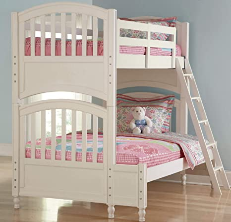 Amazon Com Build A Bear Pawsitively Yours Twin Over Full Bunk Bed