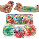 YoYa Toys Beadeez Squishy Stress Balls with DNA Spiky Textures (3-Pack) Colorful Sensory Toy and Stress Relief for Kids…