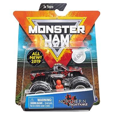 MJ 2020 Monster Jam Truck Northern Nightmare: Toys & Games