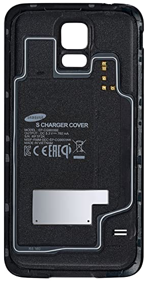 check out afc17 550d2 Samsung S Charger Cover for Galaxy S5 - Black