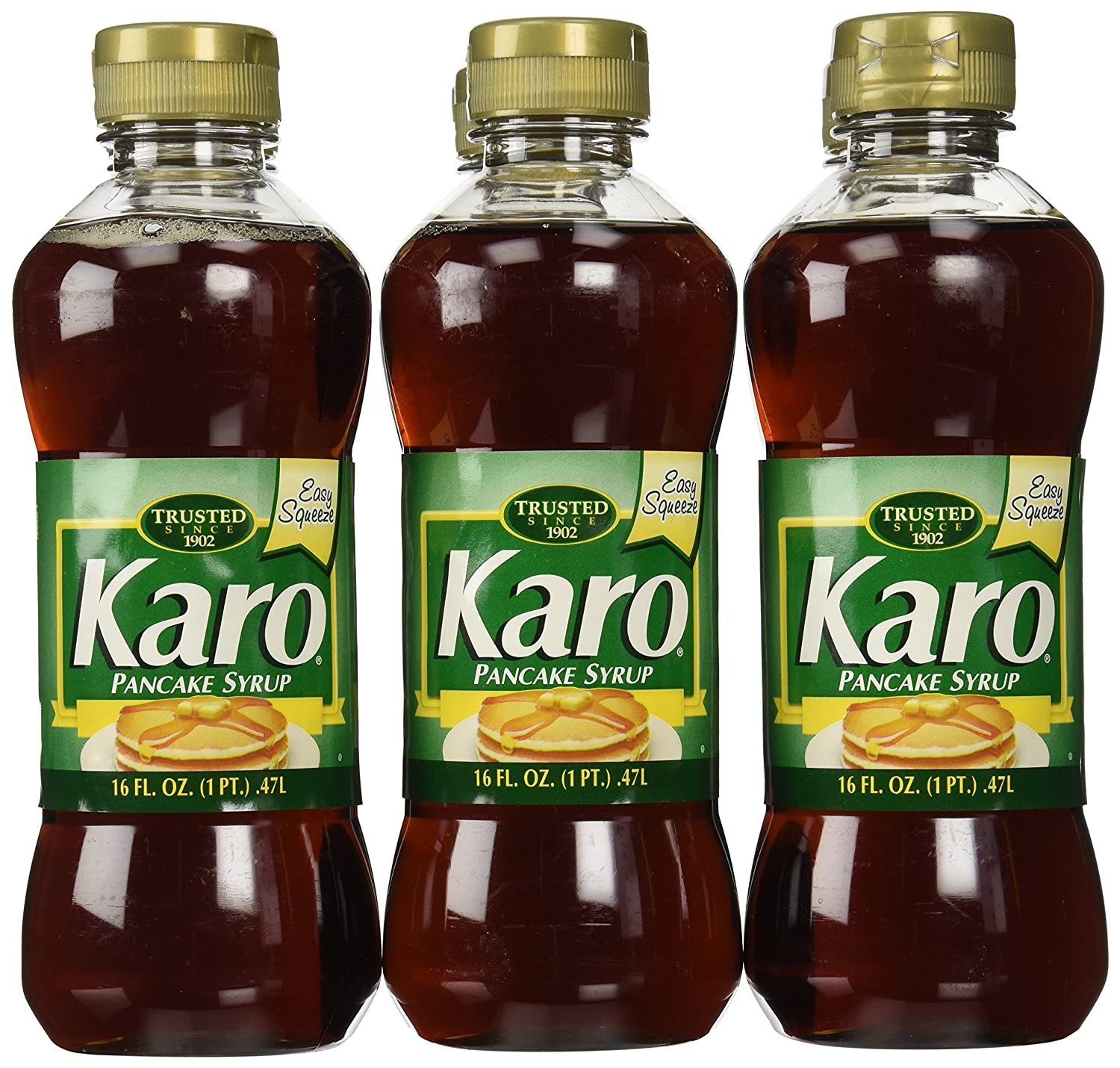 a4df66ea9da Amazon.com   Karo Pancake Syrup 16 oz. Green Label - 6 Unit Pack   Maple  Syrups   Grocery   Gourmet Food
