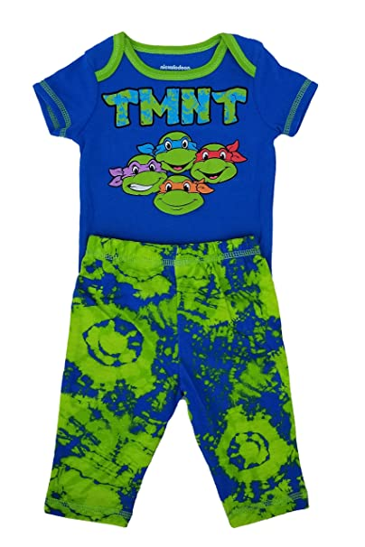 Amazon.com: TMNT Teenage Mutant Ninja Turtles bebé 2-Piece ...