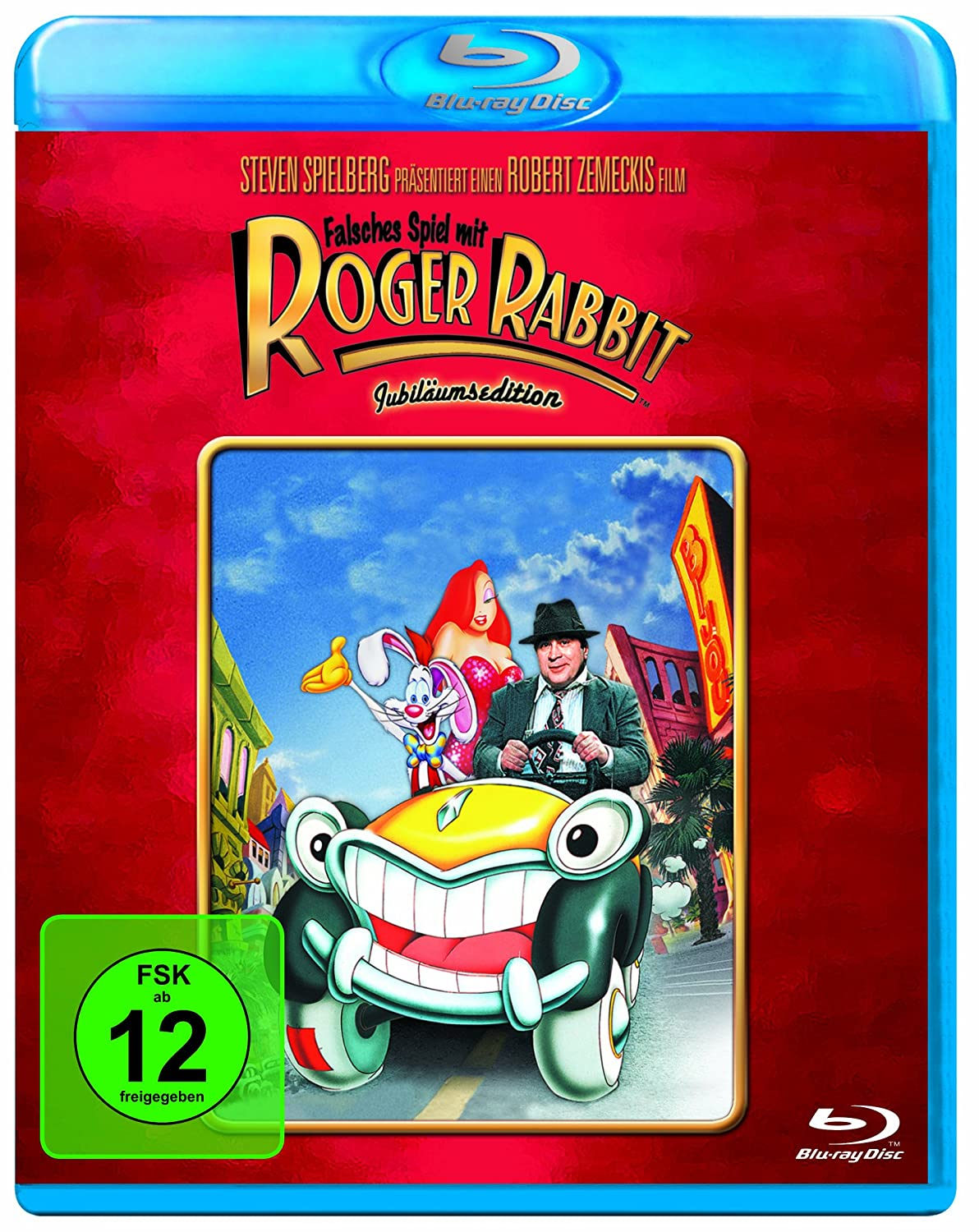Falsches Spiel mit Roger Rabbit (Blu-ray): Amazon.co.uk: Bob Hoskins ...