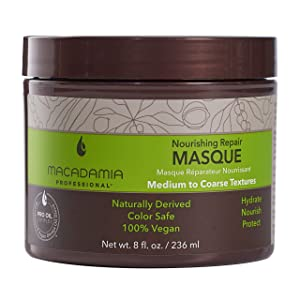 Macadamia Nourishing Moisture - mascarillas para el cabello (Mujeres, Argan oil, After shampooing, apply throughout damp hair from roots to ends. Comb through if desired. Leave on f)