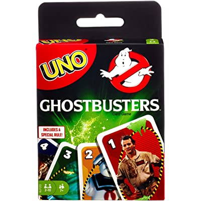 UNO Ghostbusters Card Game: Toys & Games