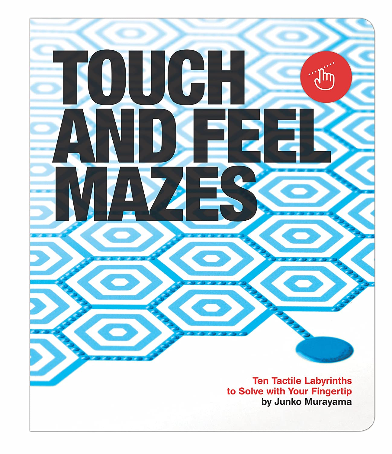 Amazon.com : Knock Knock Touch and Feel Mazes Ten Tactile Labyrinths ...