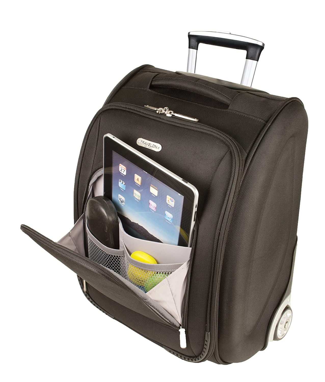 Amazon.com | Travelon 18 Inch Wheeled Underseat Carry On Bag ...