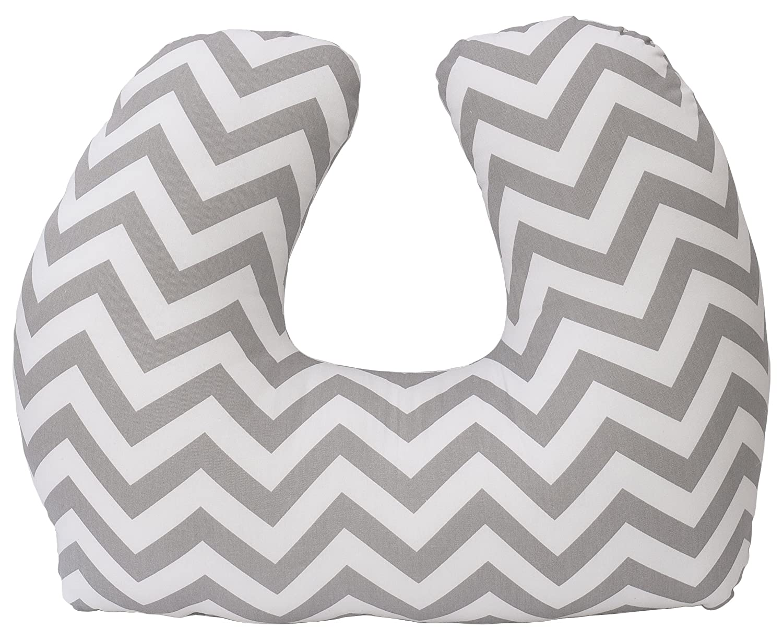 Jolly Jumper Baby Sitter Cushion, Grey Chevron Jolly Jumper US Baby 240-14