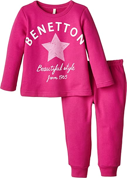 United Colors of Benetton 3J67Z1263 Benneton Star Track Suit ...