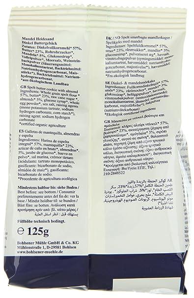 Amazon.com : Bohlsener Mühle Mandel-Heidesand Dinklel ...