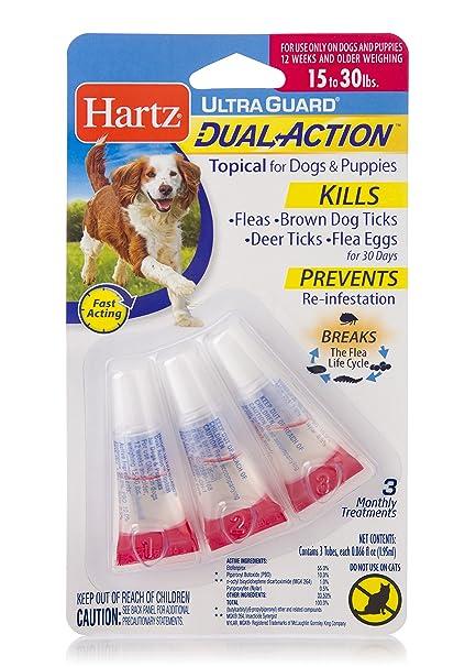 Amazoncom Hartz Ultraguard Dual Action Topical Flea Tick