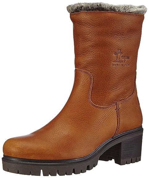 51b413fb PANAMA JACK Piola B3 - Botas de Piel para Mujer: Amazon.es: Zapatos y  complementos