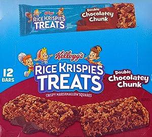 Rice Krispies Treats Big Bar, Double Chocolate Chunk 3 oz (Pack of 12)