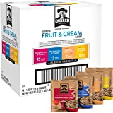 Quaker Instant Oatmeal Fruit and Cream Variety Pack, Breakfast Cereal, 1.23 Ounce