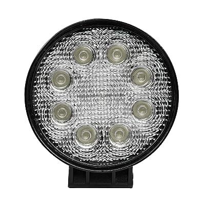 "Blazer CWL504 4.5"" LED Round Work Light with Flood Beam: Automotive"