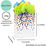 Gift Bags with Tissue Paper and Handles, for