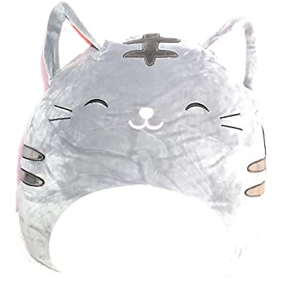 "Squishmallows 16"" Tally The Gray Cat Super Soft Plush Toy Pillow Stuffed Animal by Kellytoy: Toys & Games"