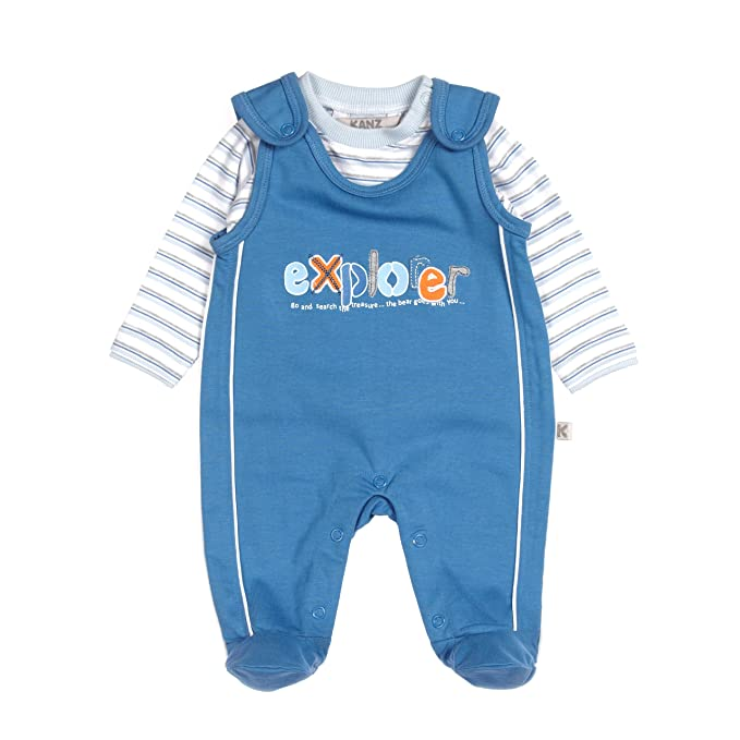 half off 92342 d561c Kanz Baby - Jungen Strampler Strampler + T-shirt 1/1 Arm