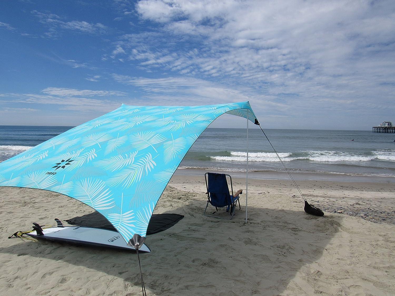 9 pies 7 pies Neso Tienda Tents Grande Beach Esquinas reforzadas y un Bolsillo m/ás fr/ío 2,7 m 9 pies de Altura 2,1 m Coral x 2,7 m