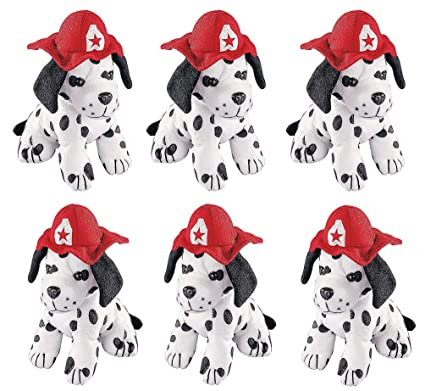 Amazoncom 4es Novelty Stuffed Dalmatians Soft Plush Puppy Dogs