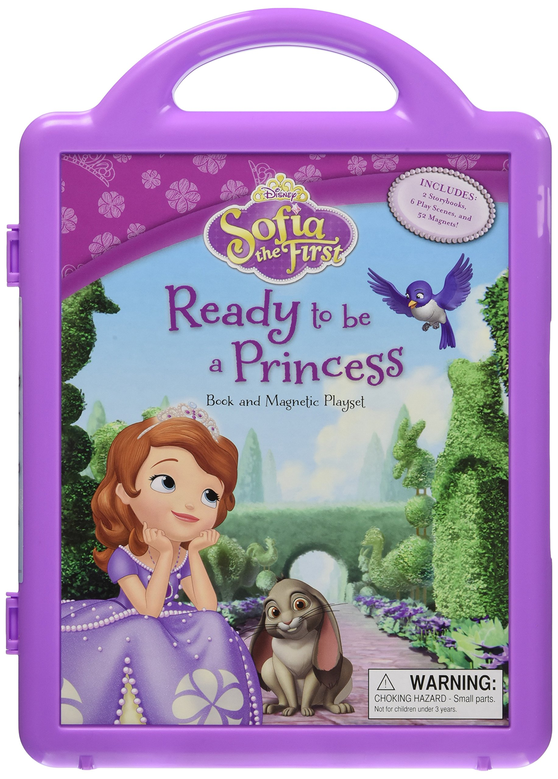 Read Online Sofia the First Ready to be a Princess: Book and Magnetic Playset pdf epub