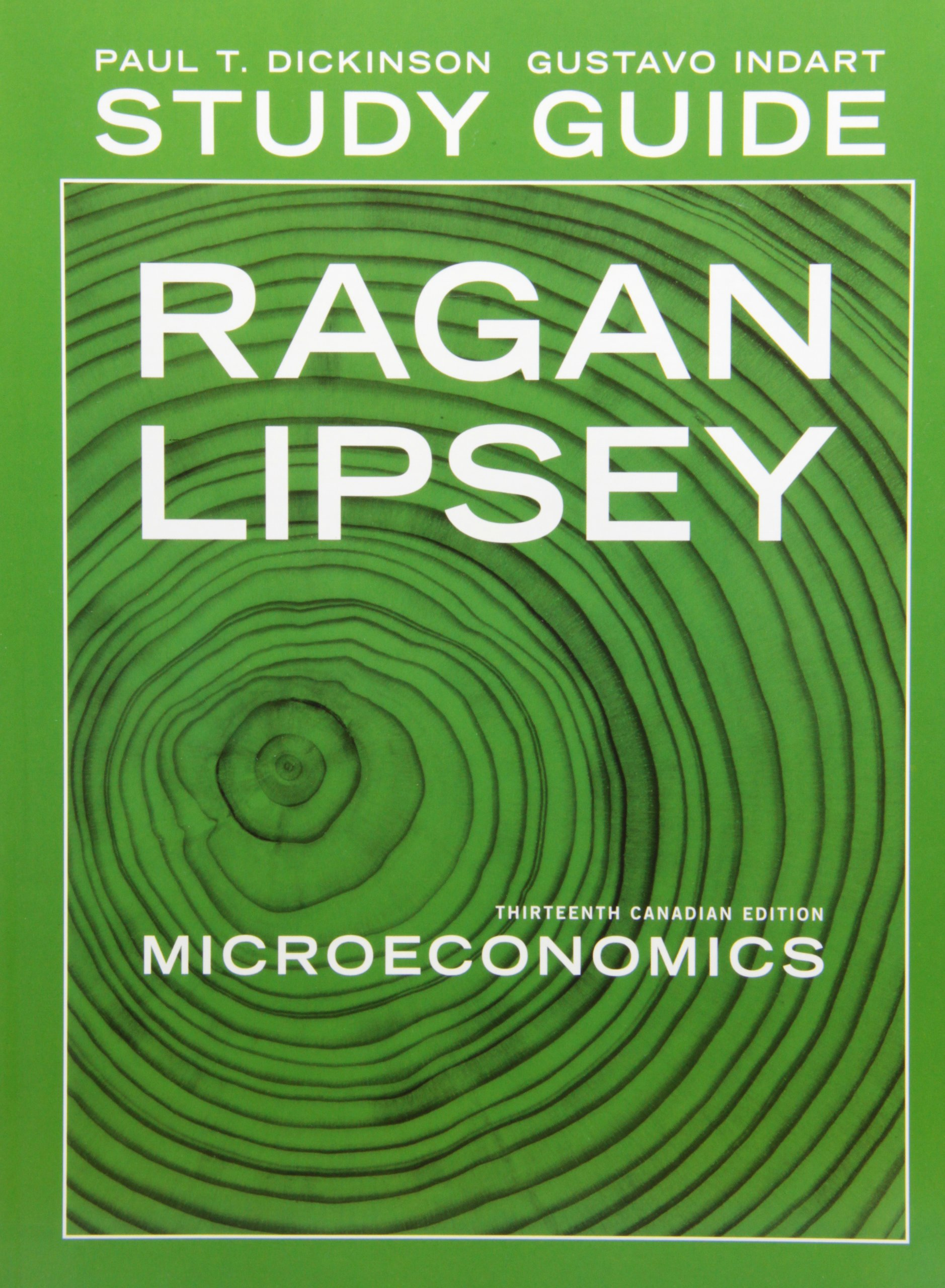 Study Guide for Microeconomics, Thirteenth Canadian Edition: Christopher  Ragan, Richard G Lipsey: 9780321685230: Books - Amazon.ca