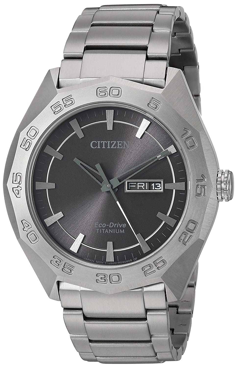 Citizen Men s Eco-Drive Super Titanium Silvertone Watch
