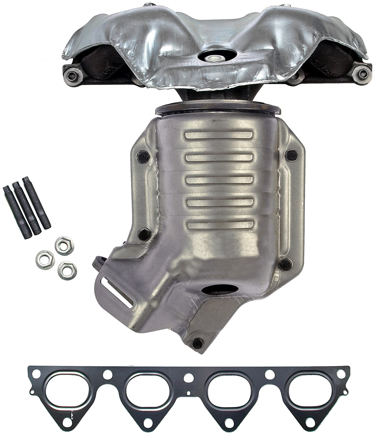 Amazon dorman 673 439 exhaust manifold with integrated amazon dorman 673 439 exhaust manifold with integrated catalytic converter carb compliant automotive fandeluxe Gallery