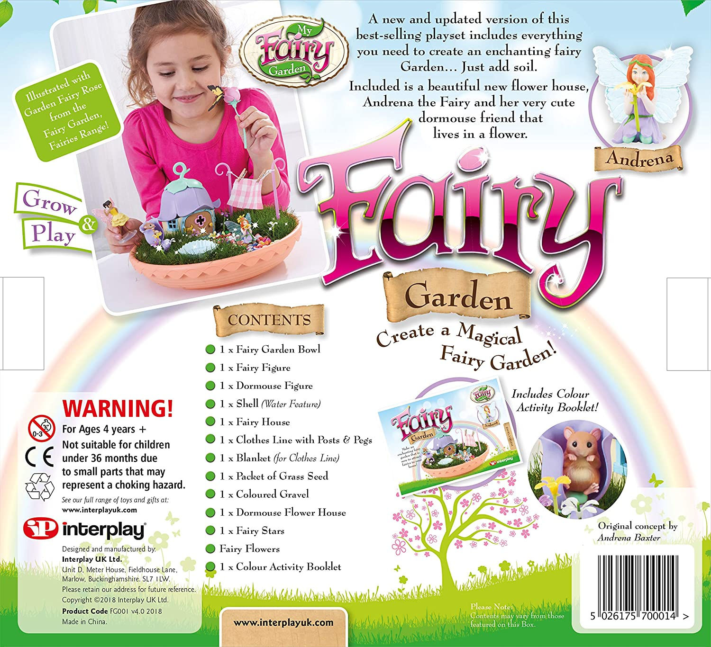 My Fairy Garden Fairy Garden Interplay Amazon Toys & Games