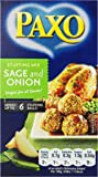 Paxo Sage and Onion Stuffing, 3-Ounce (Pack of 8)