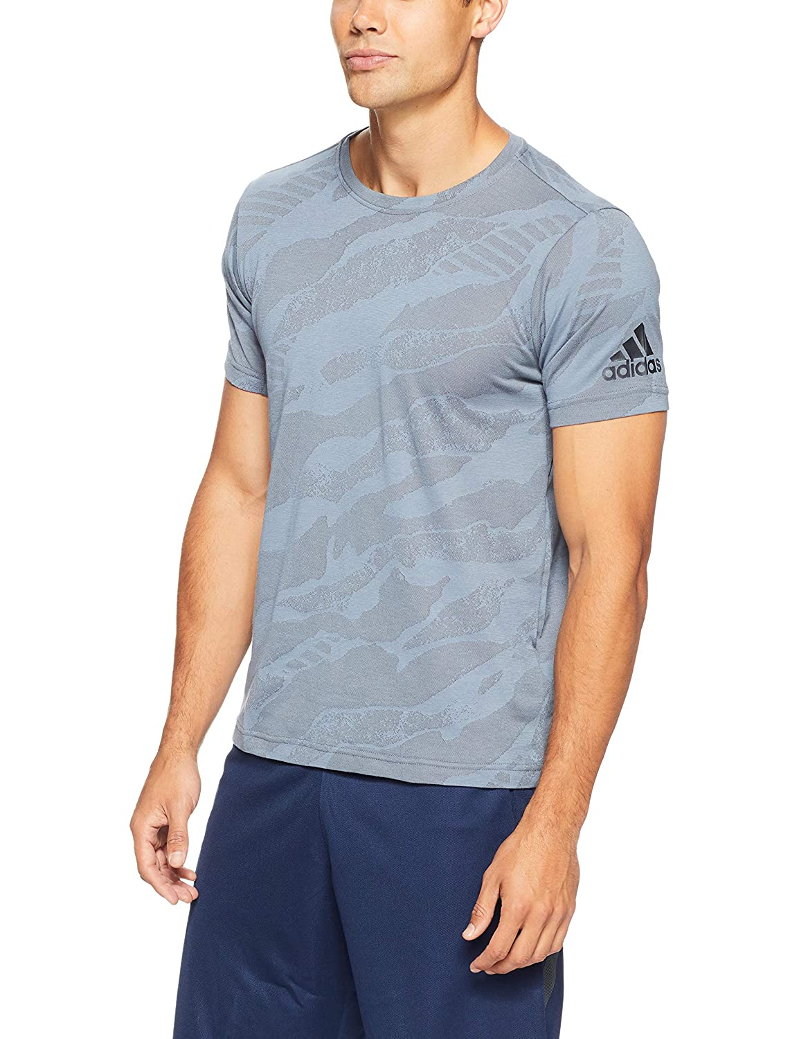 adidas Herren T Shirt FREELIFT ENGINEERED JACQUARD |