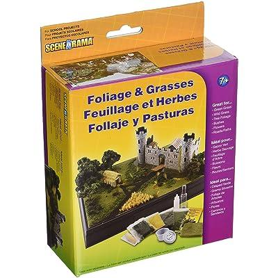 Woodland Scenics SP4120 Scene-A-Rama™ Foliage and Grasses Kit, Multicolor: Home & Kitchen