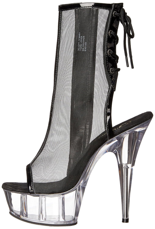 Pleaser Pleaser Pleaser Delight-1018MSH - Sexy Plateau High Heels Stiefeletten - 36-43 d44a3b