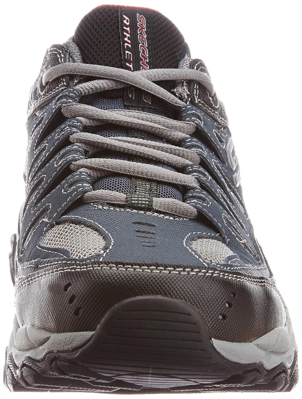 Skechers-Afterburn-Memory-Foam-M-fit-Men-039-s-Sport-After-Burn-Baskets-Chaussures miniature 58