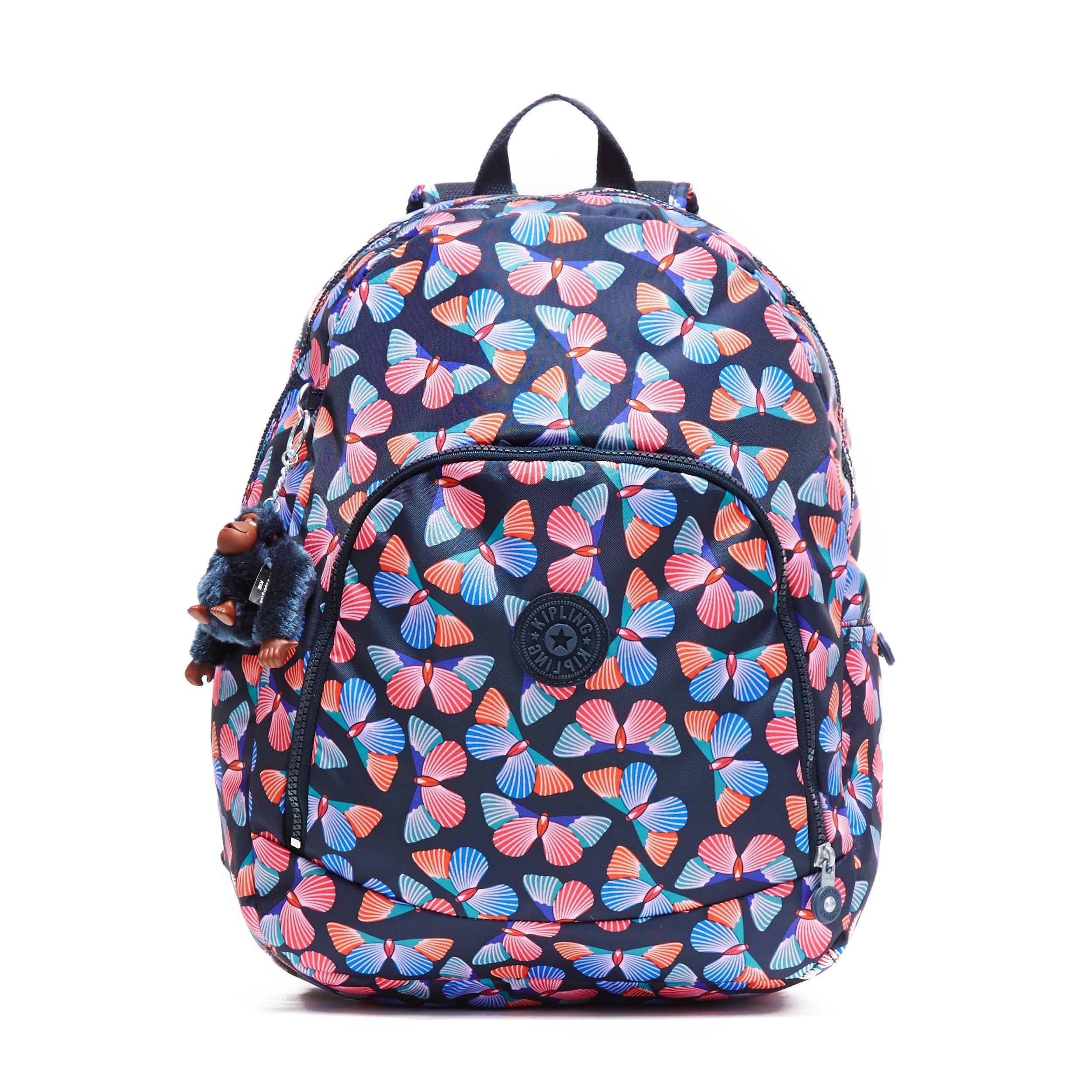 Kipling Carmine A bag, Flutterflies, One Size