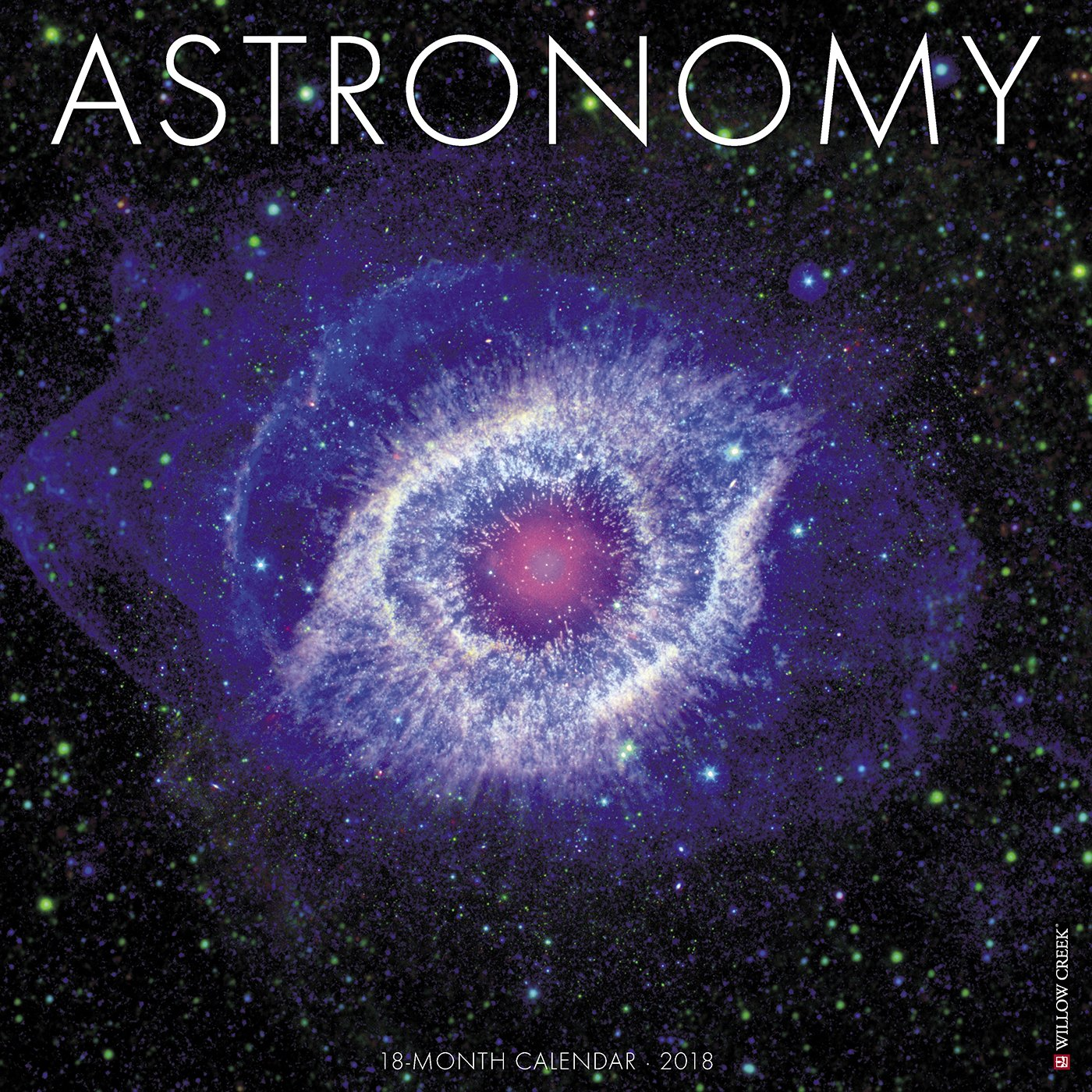 free shipping Astronomy 2020 Wall Calendar by Willow Creek Press