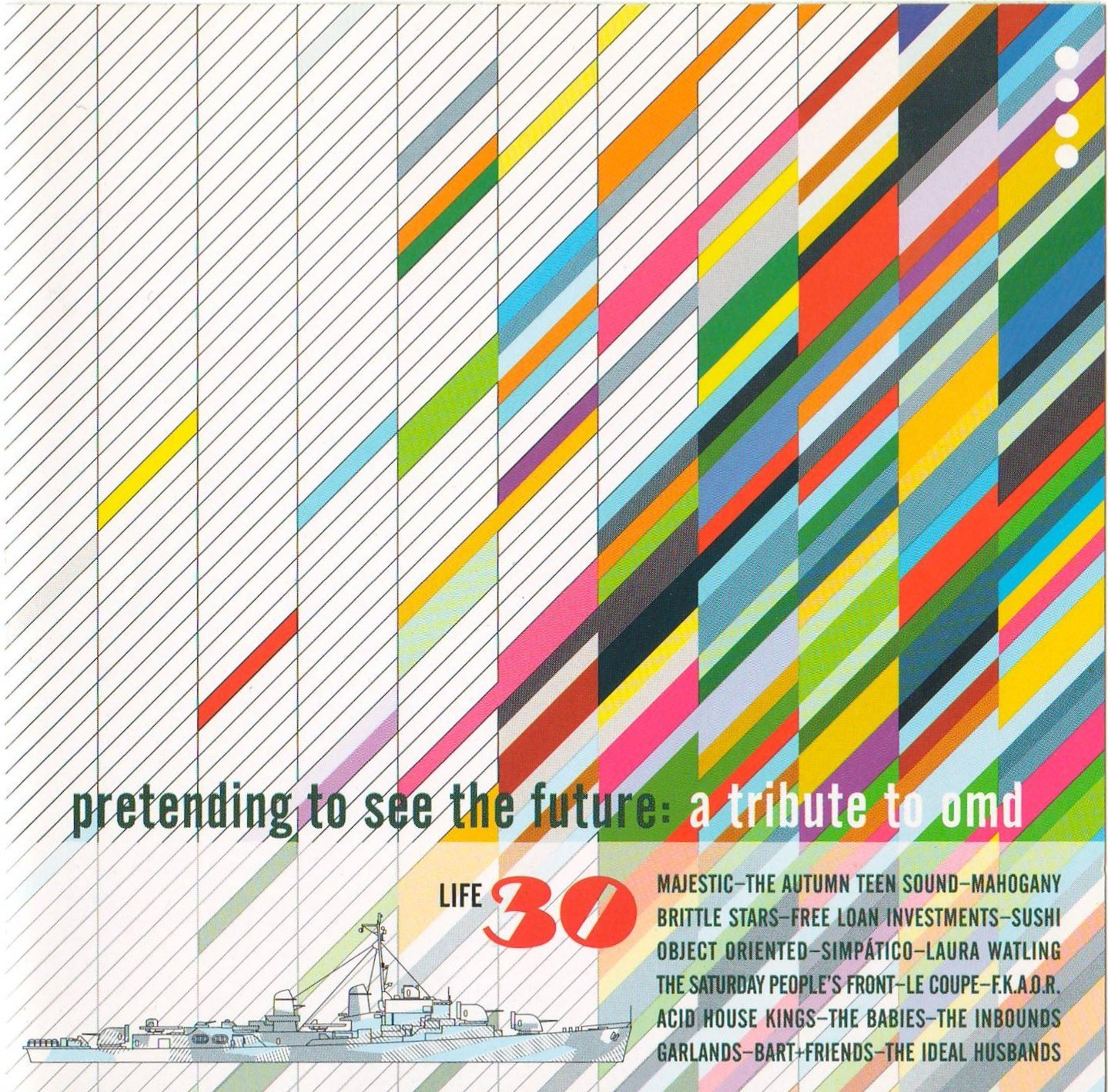 Pretending to See the Future: A Tribute to OMD by Shelflife Records
