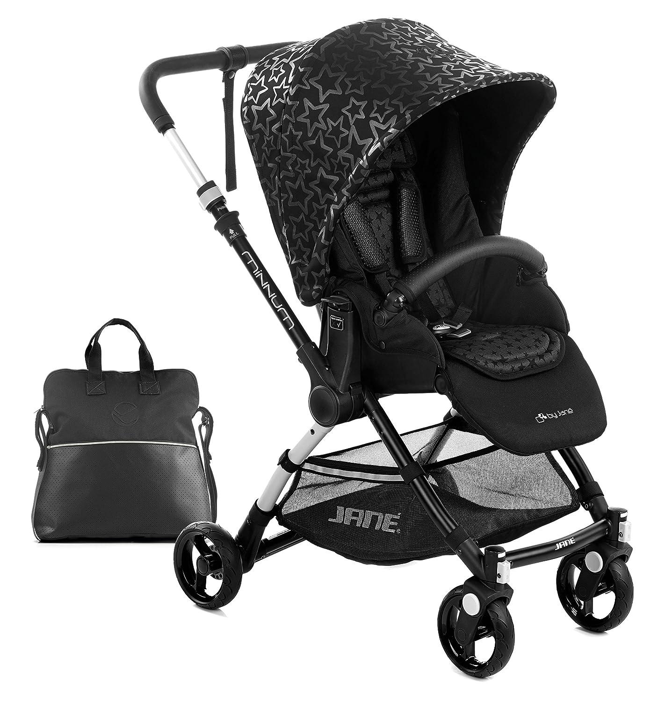 Jane minnum carrito de bebé, cochecito cochecito, ligero - Negro ...