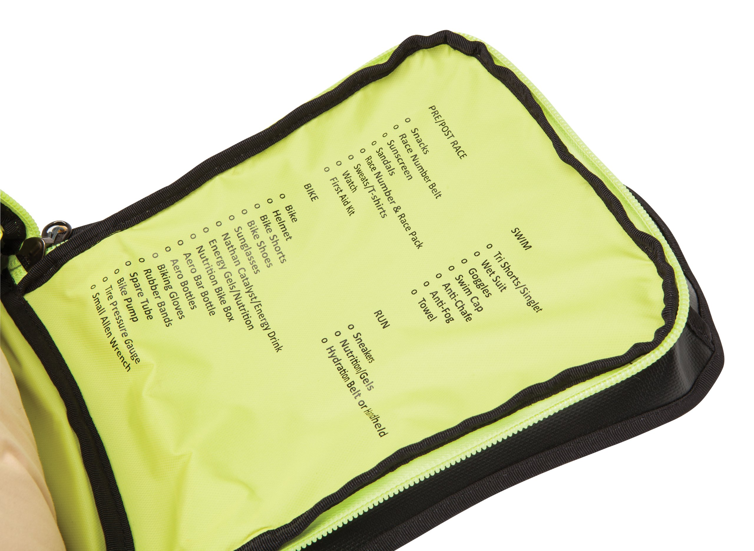 Nathan Flight Control Bag, Black/Sulphur Spring, One Size by Nathan (Image #4)