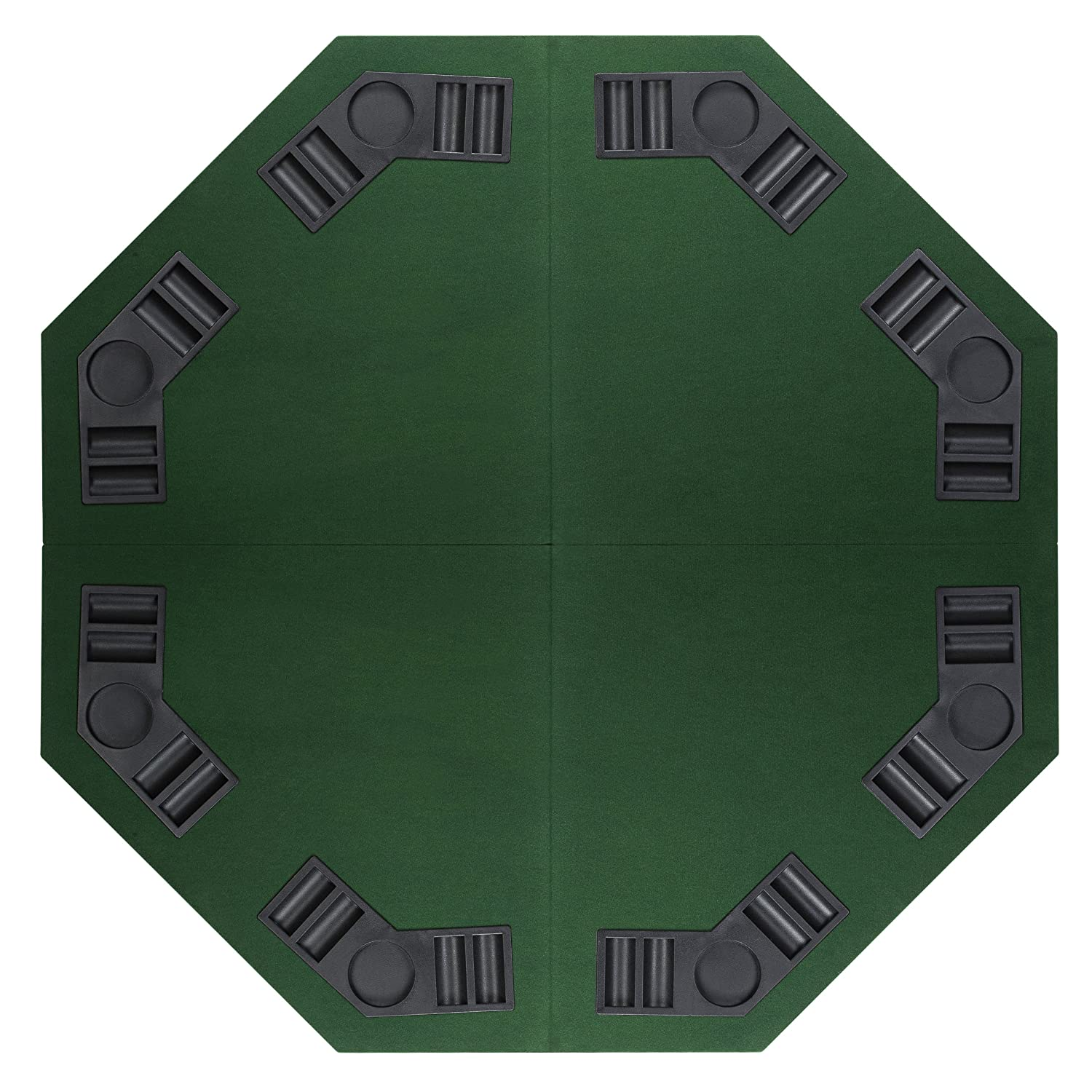 """eSecure 1 2m 48"""" Poker Table Top for 8 Players with Poker"""