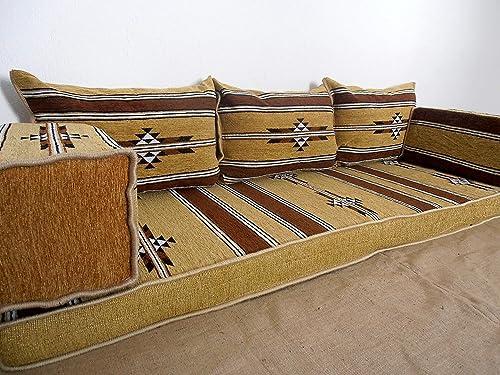 Brilliant Traditional Oriental Floor Seating Floor Sofa Arabic Cushions Arabic Seating Arabic Couch Ma 24 Machost Co Dining Chair Design Ideas Machostcouk