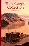 Tom Sawyer Collection - All Four Books [Free Audiobooks Includes 'Adventures of Tom Sawyer,' 'Huckleberry Finn'+ 2 more sequels] (Golden Deer Classics) (English Edition)