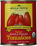 Bella Terra San Marzano Region Whole Peeled Tomatoes, 28 oz