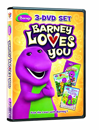 Amazon com: Barney Loves you (You Can Be Anything / I Love