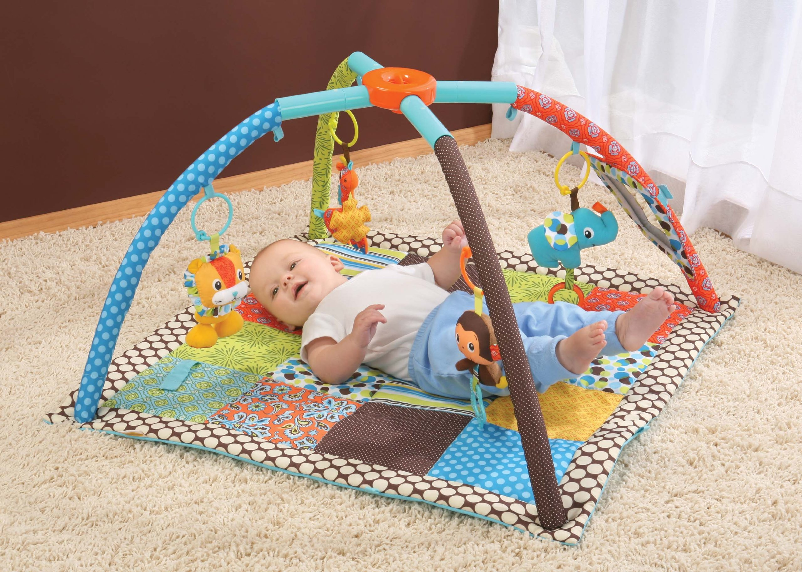 Infantino Twist and Fold Activity Gym, Vintage Boy by Infantino (Image #4)