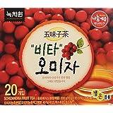 [Nokchawon] 100% Organic Oriental TEA selections from Korea Schizandra fruit tea 20T