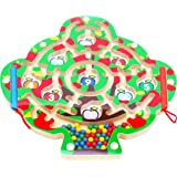 Toys of Wood Oxford Wooden Magnetic Labyrinth Fruit Tree