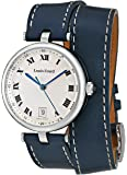 Louis Erard Women's 11810AA01 Romance Analog Display Quartz Navy Blue Watch